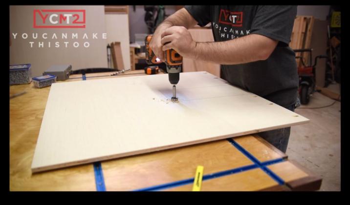 Как самому сделать фрезерный стол - 25