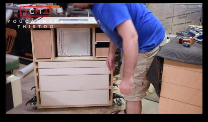 Как самому сделать фрезерный стол | 51