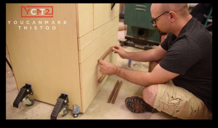 Как самому сделать фрезерный стол - 59