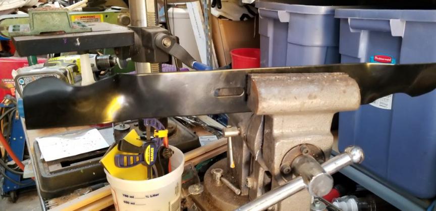 Реставрируем газонокосилку своими руками - 35