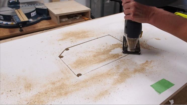 Делаем фрезерный стол и параллельный упор к нему - 5