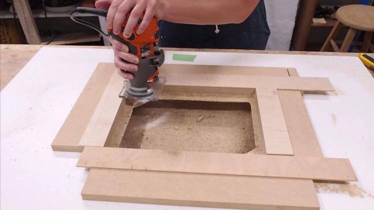 Делаем фрезерный стол и параллельный упор к нему | 6