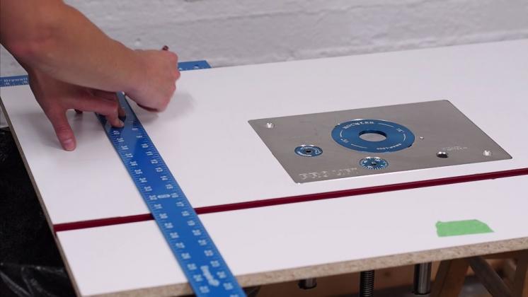 Делаем фрезерный стол и параллельный упор к нему - 14