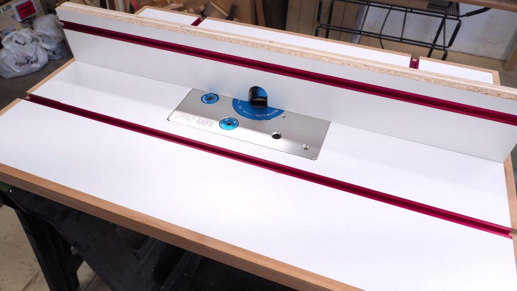 Делаем фрезерный стол и параллельный упор к нему - 30