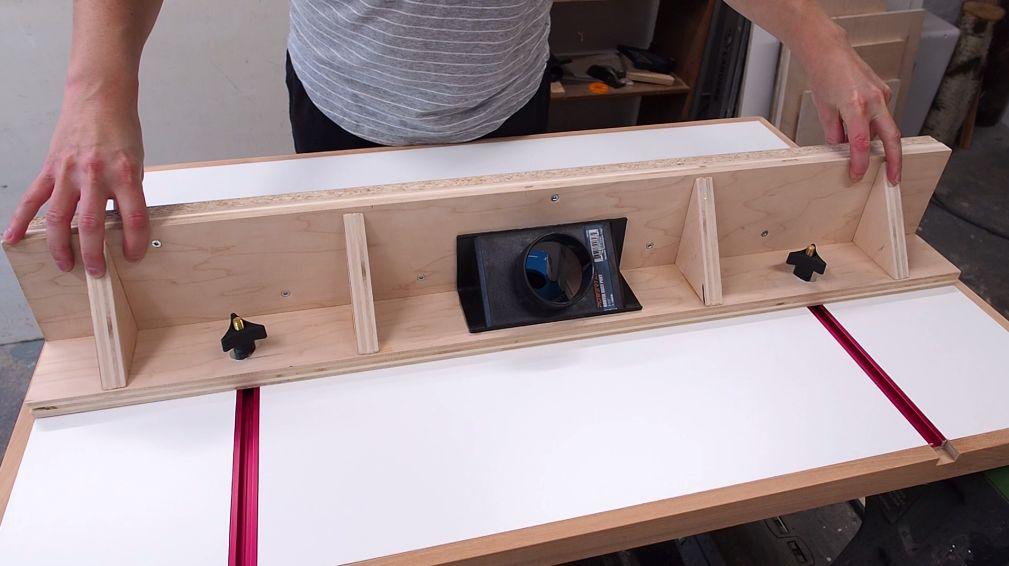 Делаем фрезерный стол и параллельный упор к нему - 31