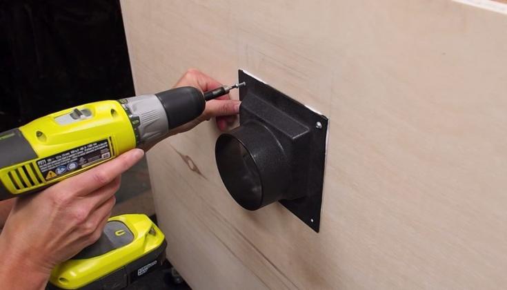Как сделать пылесборник для фрезерного стола своими руками | 8