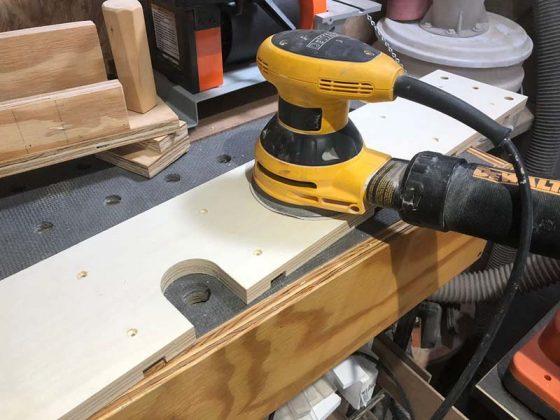 Упор для фрезерного стола своими руками