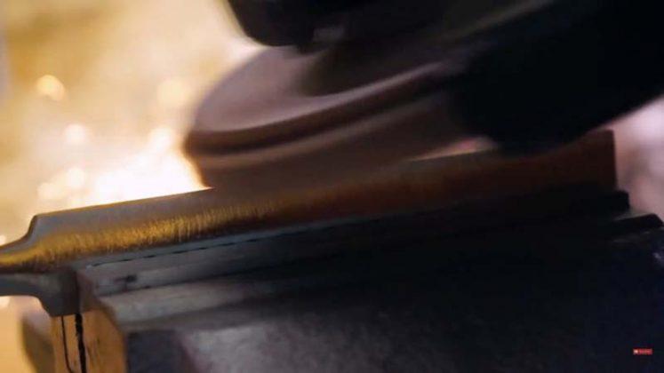 Самодельный нож для строгания древесины | 4