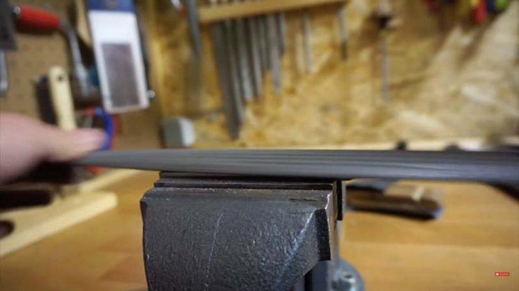 Самодельный нож для строгания древесины | 3