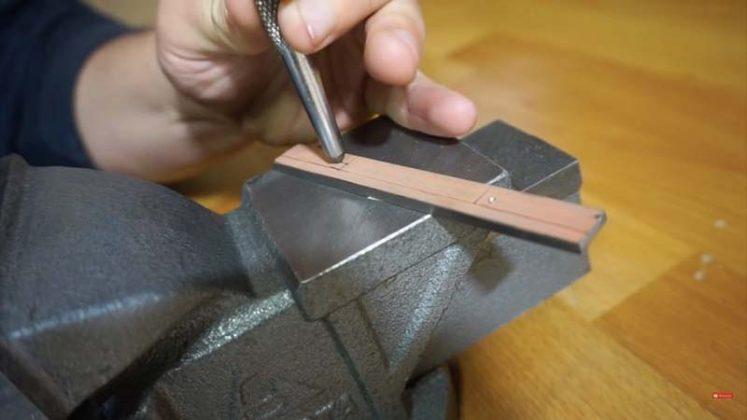 Самодельный нож для строгания древесины | 8