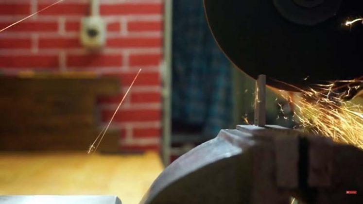 Самодельный нож для строгания древесины - 10