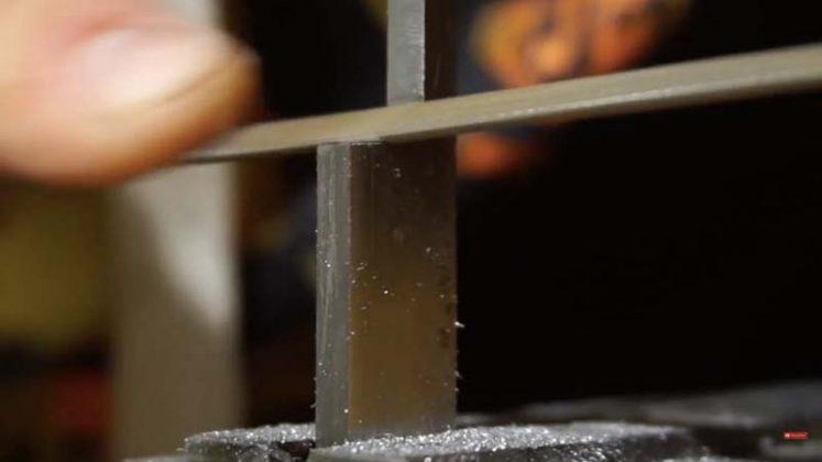 Самодельный нож для строгания древесины | 13