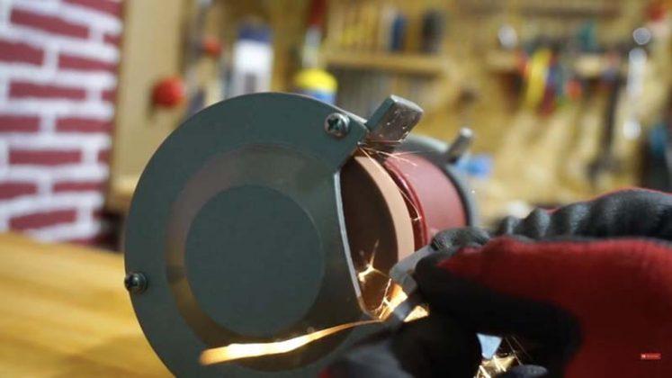 Самодельный нож для строгания древесины | 14