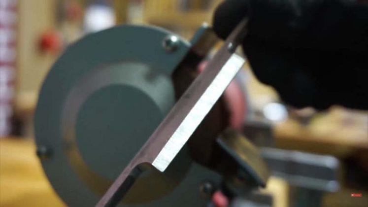 Самодельный нож для строгания древесины | 15