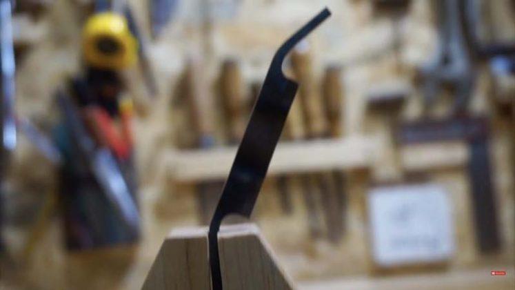Самодельный нож для строгания древесины | 21