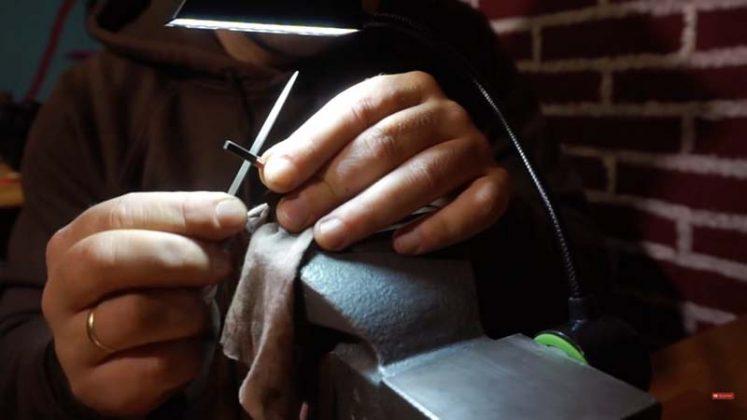 Самодельный нож для строгания древесины - 23