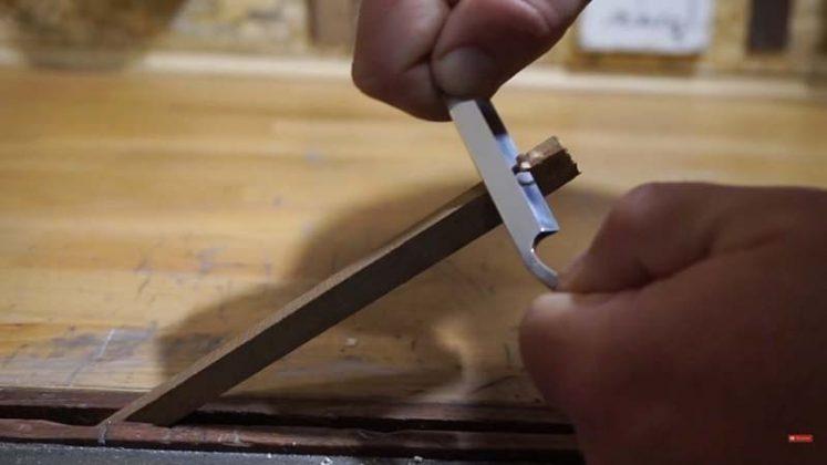Самодельный нож для строгания древесины-1