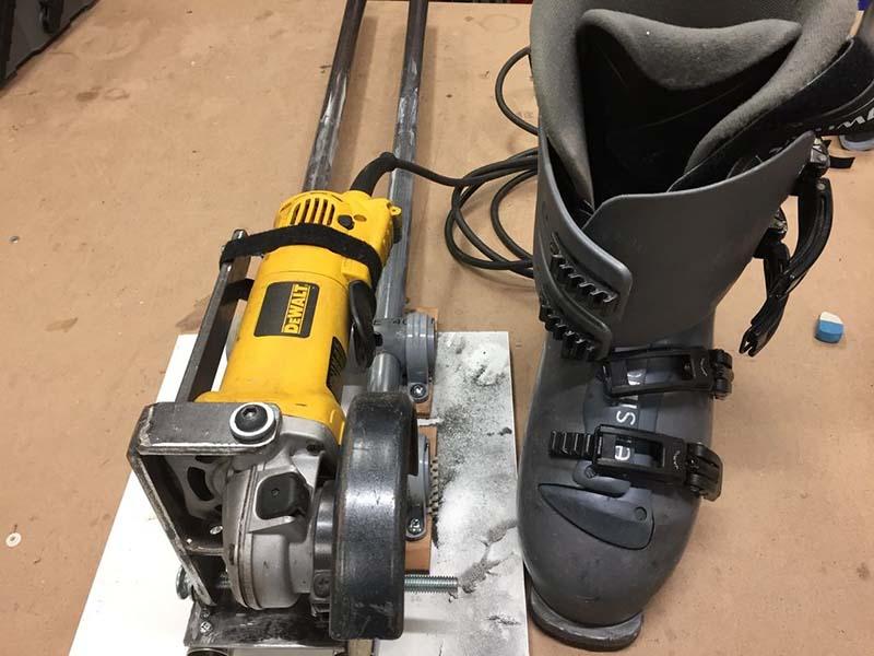 Ремни от лыжных ботинок для УШМ
