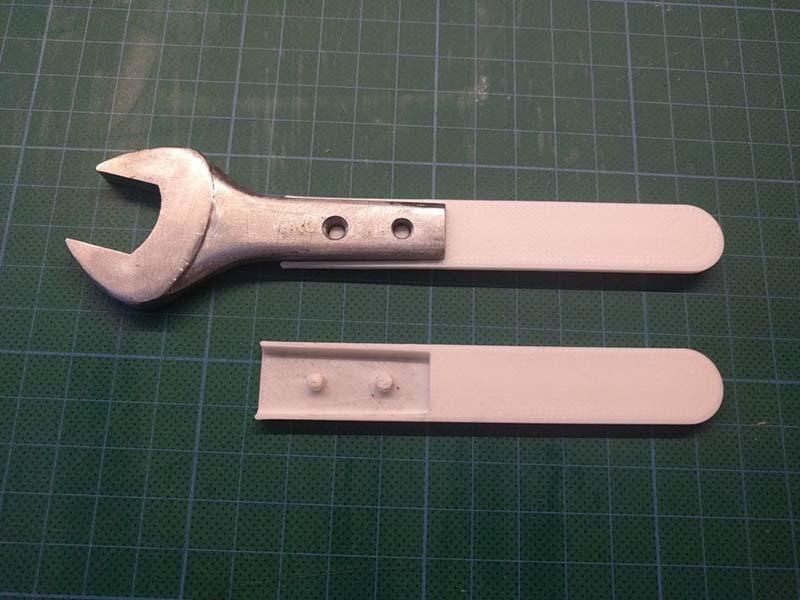 Рукоятка для гаечного ключа