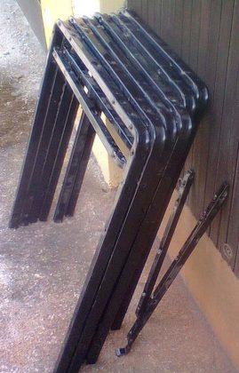 Самодельные складные козлы для распиловки древесины | 2