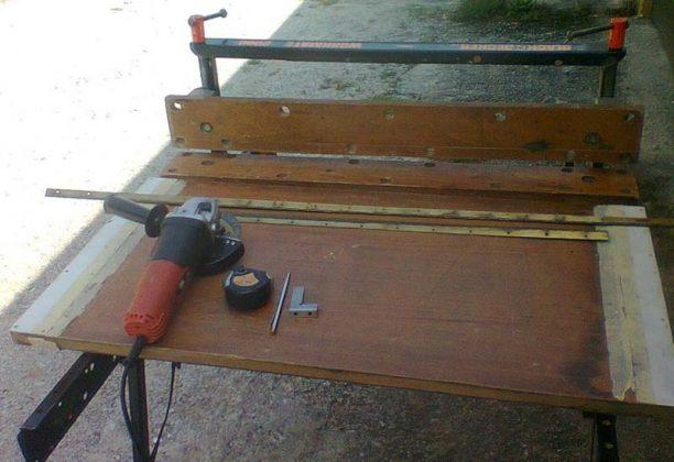 Самодельные складные козлы для распиловки древесины | 6