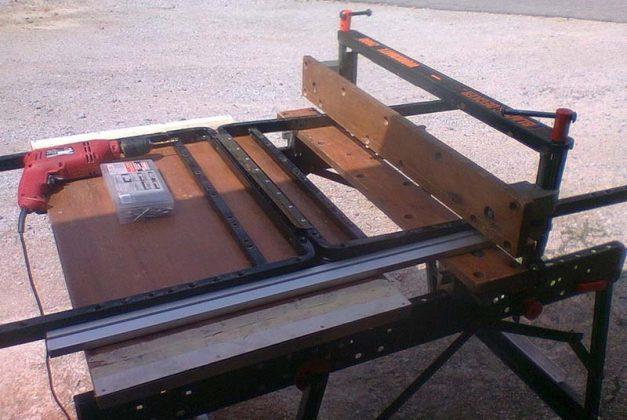 Самодельные складные козлы для распиловки древесины - 10