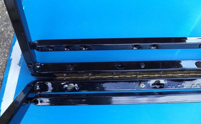 Самодельные складные козлы для распиловки древесины - 11