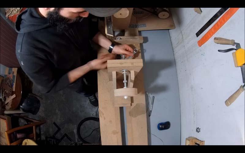 Модифицируем токарный станок по дереву - 1