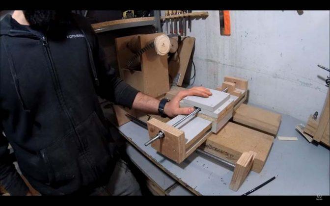 Модифицируем токарный станок по дереву - 2
