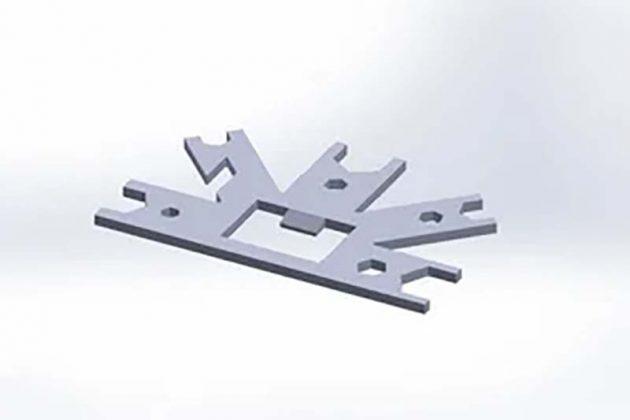 3D модель мультитула