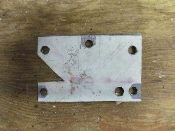 Вырезание заготовки для мультитула-2