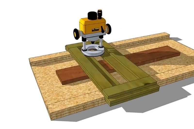 3D модель фрезерного станка на передвижном каркасе