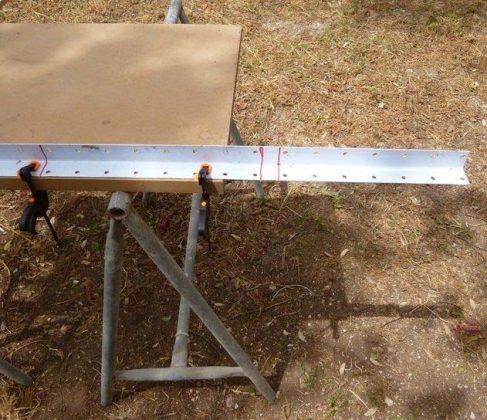 Делаем передвижной каркас для электрического фрезерного станка | 1