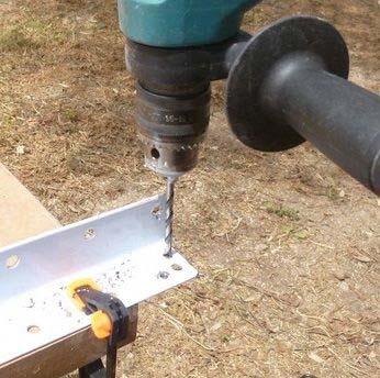 Делаем передвижной каркас для электрического фрезерного станка | 3