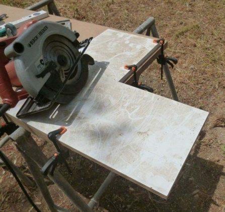 Делаем передвижной каркас для электрического фрезерного станка | 4