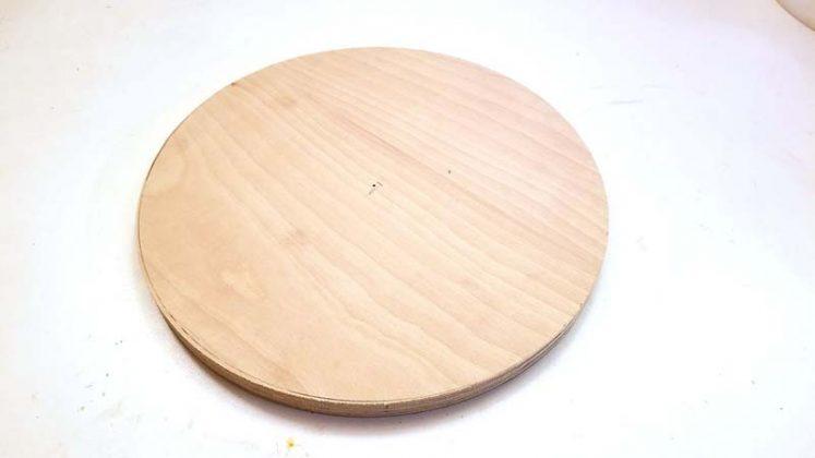 Деревянный круг