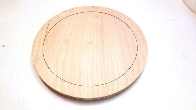 Деревянный круг-2
