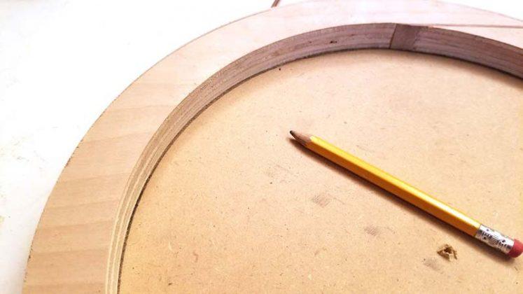 Дефлектор из деревянного круга-2
