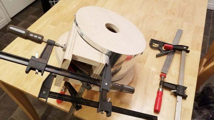 Компактный пылесборник в мастерскую своими руками | 26