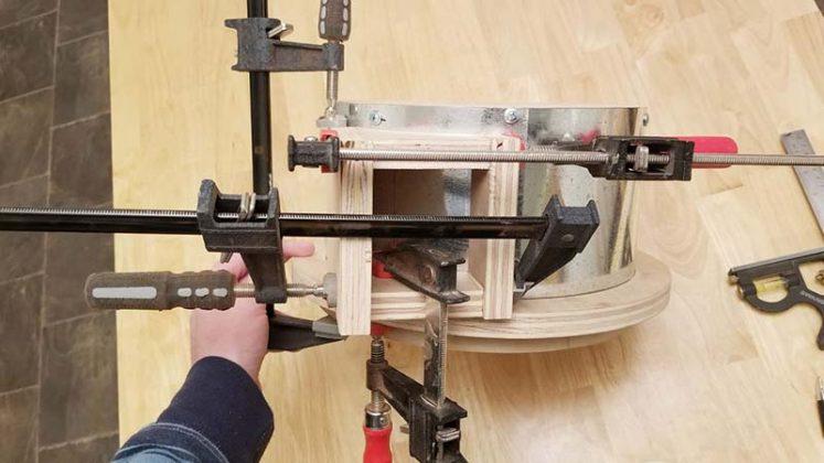 Компактный пылесборник в мастерскую своими руками - 29