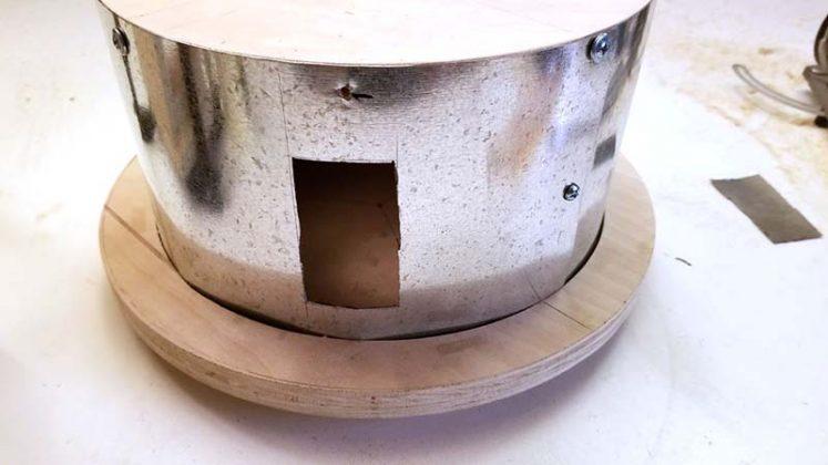 Компактный пылесборник в мастерскую своими руками | 37