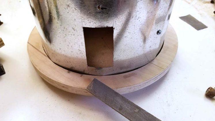Компактный пылесборник в мастерскую своими руками - 38