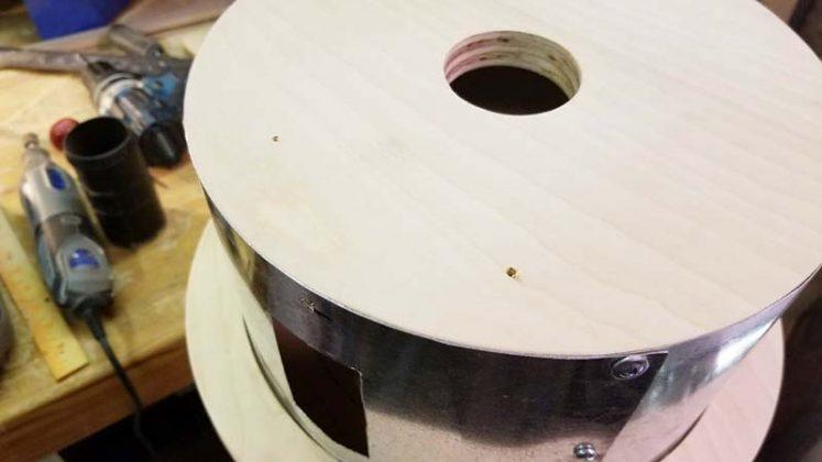 Компактный пылесборник в мастерскую своими руками - 45