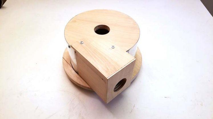 Компактный пылесборник в мастерскую своими руками | 53