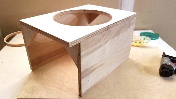Компактный пылесборник в мастерскую своими руками | 64