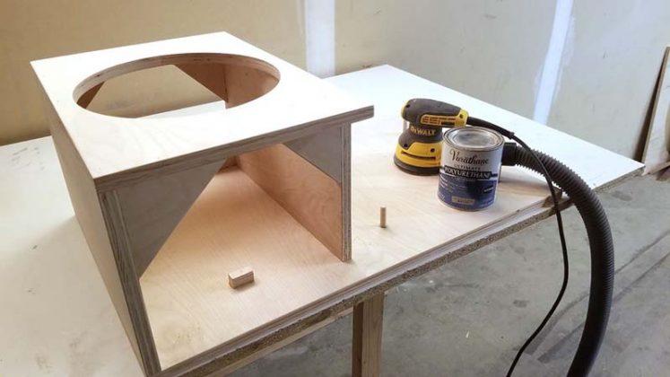 Компактный пылесборник в мастерскую своими руками - 74