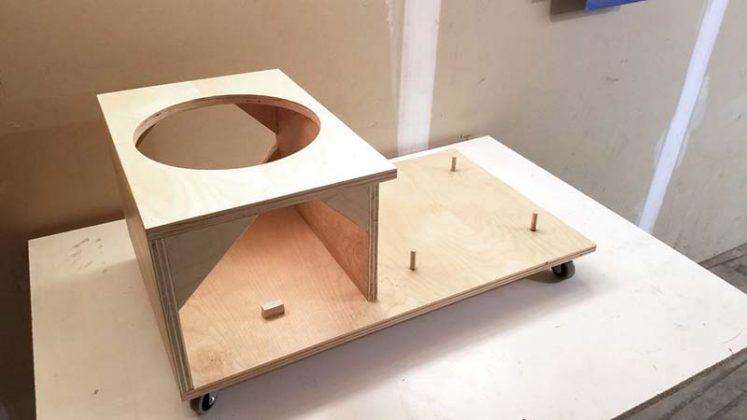 Компактный пылесборник в мастерскую своими руками - 75