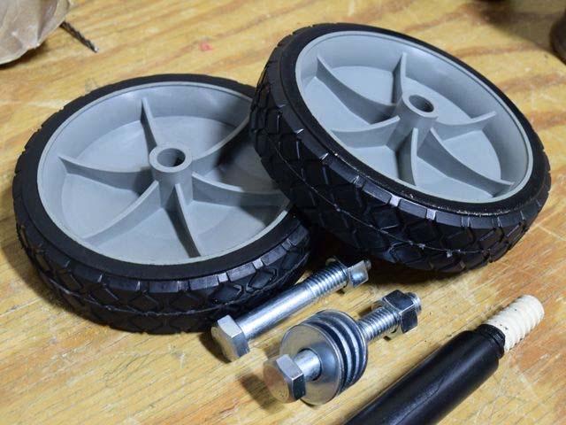 Пластиковые колеса