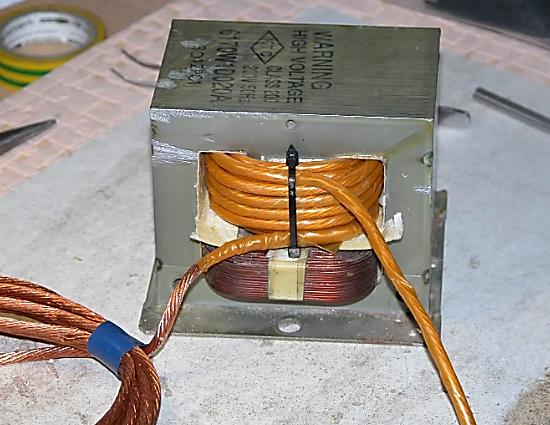 Переделка трансформатора своими руками