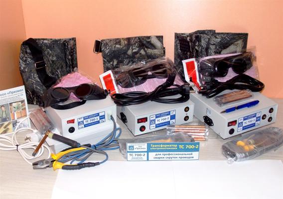 Аппараты для сварки скруток серии ТС-700.